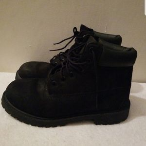 TIMBERLAND BEAUTIFUL BLACK BOOTS